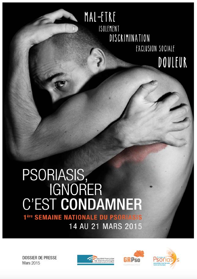 Semaine du Psoriasis 2015 - Communiqué de Presse France Psoriasis
