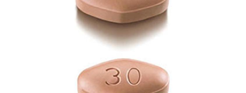 Otezla, un nouveau traitement contre le psoriasis, dérivé de la molécule aprémilast.