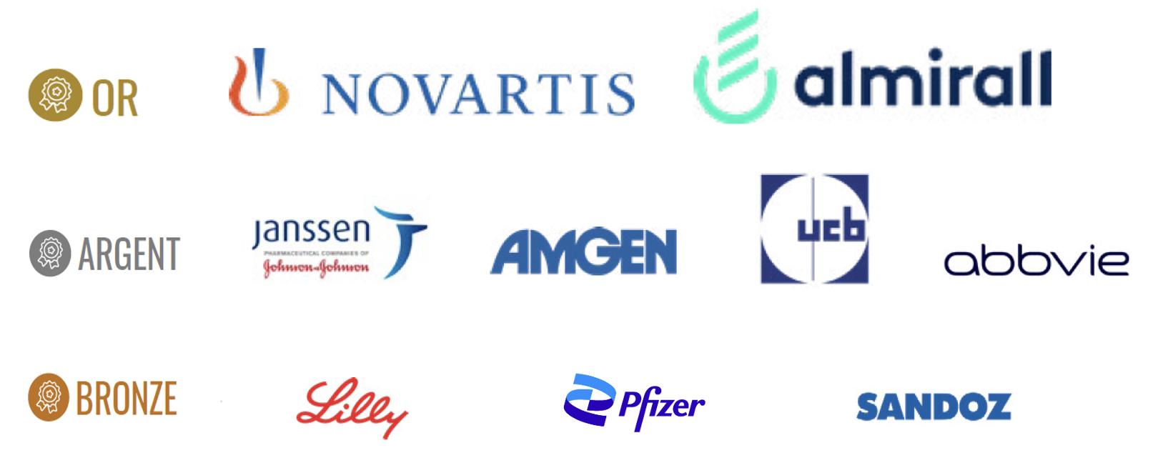 Partenaires de la campagne de lutte contre les disparités d'accès aux soins de France Psoriasis